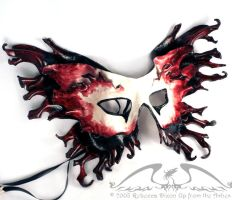 Titania Leather Mask by starbright2040
