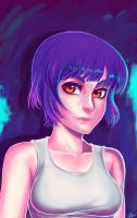 Major Kusanagi by dreamwatcher7