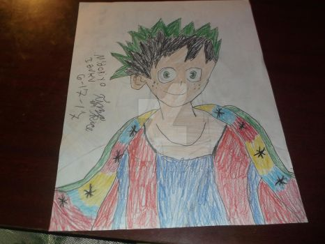 Deku With A Cape With Stars by Deku-Midoriya