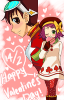 SxM ::Sweet Valentine's Day:: by Na-Nami