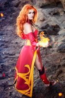 Lina - Dota 2 by Kinpatsu-Cosplay