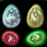 Mystery Glow Egg Adopts CLOSED by SparrowWrightheart