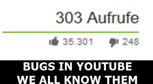 YOUTUBE BUGS by Juna8789