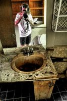 Self Portrait: Abandoned House by basseca