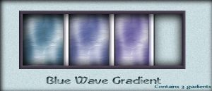 Psp9 Gradients blue by AzurylipfesStock