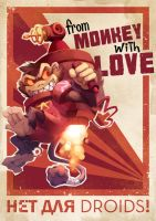 From Monkey with Love by nikogeyer