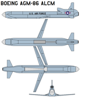 Boeing AGM-86 ALCM by bagera3005