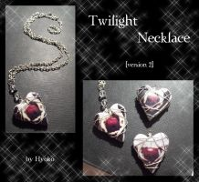 Twilight Necklace - vers. 2 by Hyo-pon