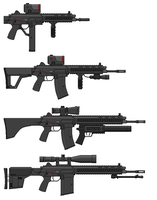 AR5R2 Modular Weapons System - Selection by SixthCircle