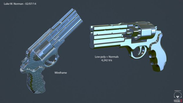 M720 Magnum W.I.P by LWNorman