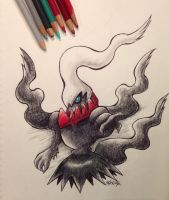 Darkrai by Shinku15