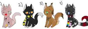 Cat Adopts (Closed) by Pippyde