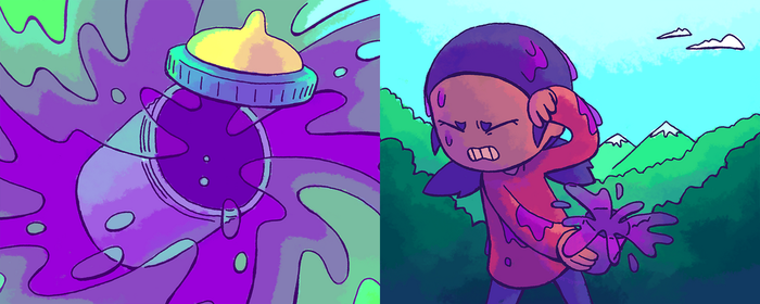 Morning Dream: Pages 33 and 34 by GreenMangos