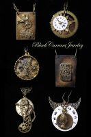 More Steampunk by blackcurrantjewelry