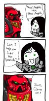 Necro-n Blood Angels by Sleepydraw