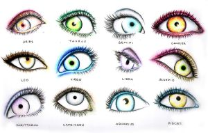 Zodiac Eyes by thecheapbouquet