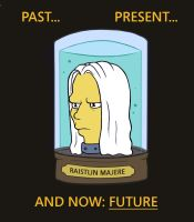 Raistlin Futurama head by Belegilgalad