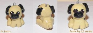 Pug in polymer clay by hytare
