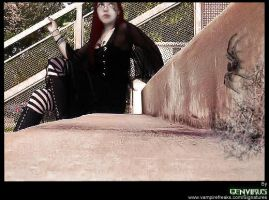 on the stair by Widerstand