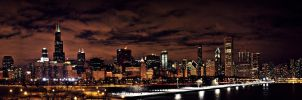 Chicago Panorama Night by Zeal-GJP