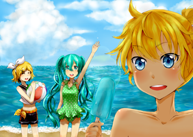 Vocaloid Vacation by Geminid