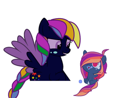He he, yup thats my daughter by A-Tiny-Star