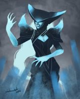 Lissandra: The Ice Witch by DandDurand