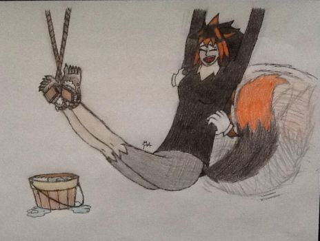 Foxy Tickling by Tickling-Artist-M