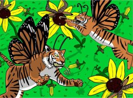 Tigerflies by Angry-buddha-88