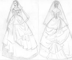 Wedding Dress Draft by lilly-anne