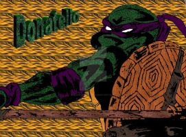 Donatello by BioMechGinger