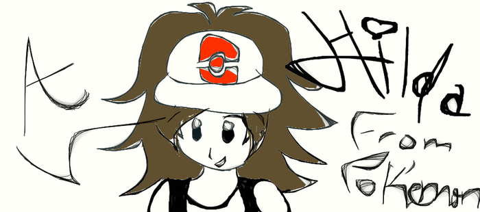 Hilda from Pokemon by Awesome1168eerz