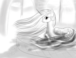Celestia and bed by Thorheim