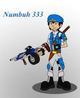 Numbuh 333 by Redtriangle