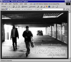 Official Clandestino MovieSite by infodesh