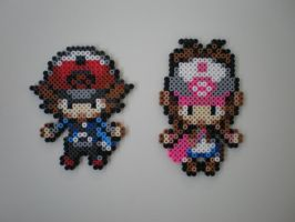 Pokemon Trainers No.2 by 8-BitBeadsStudio