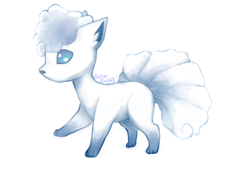 Alolan Vulpix by ButterBird123