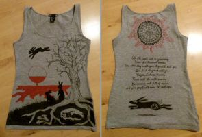 Watership Down Shirt Design by TainTed-LoVe92