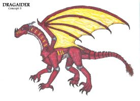 Dragaider Concept 3 by SpudYeisleyCreations