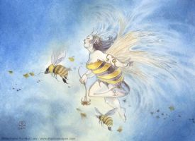 Queen Bee by puimun