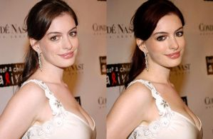 Anne Hathaway photomanip by khyddinamaani