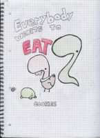 Everybody wants to eat by Falcfire