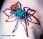 SPIDER TATTOO 2 by NocturneJewel