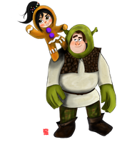 Vanellope and Ralph by chinensisXIII