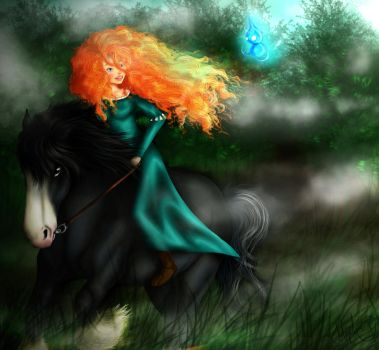 Brave. by Catriinaa