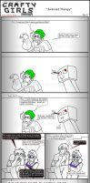 Minecraft Comic: CraftyGirls Pg 23 by TomBoy-Comics