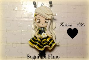 Fata Etta (Fairy Bee) by SogniDiFimoCReazioni