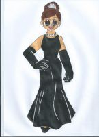 Holly Golightly by animequeen20012003