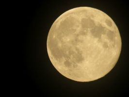 August Super Moon by Michies-Photographyy