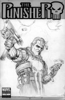 Punisher Pencils by jeffreyedwards